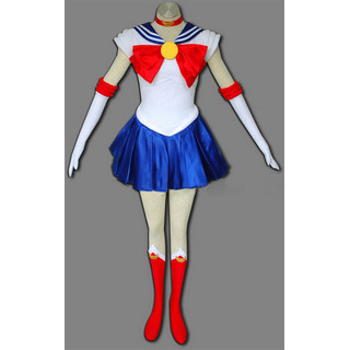 Sailor Moon Usagi Tsukino Battle uniform Cosplay Costume