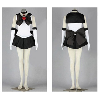 Sailor Moon Setsuna Meioh Battle uniform Cosplay Costume