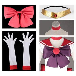 美少女戦士セーラームーン 火野レイ(ひの レイ) 戦闘服 コスプレ衣装