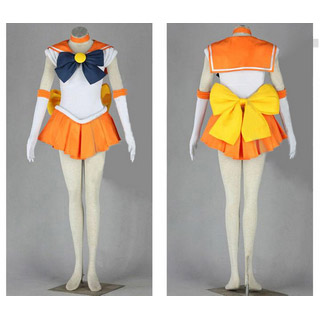 Sailor Moon Aino Minako Battle uniform Cosplay Costume