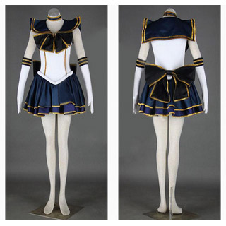Sailor Moon Setsuna Meioh Cosplay Costume