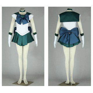 Sailor Moon Kaiou Michiru Cosplay Costume