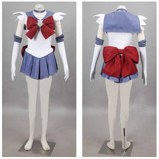 Sailor Moon Hotaru Tomoe Cosplay Costume