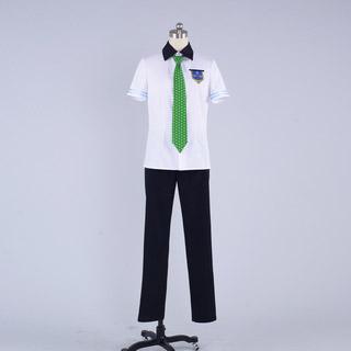 Free! 七瀬 遙(ななせ はるか)/橘 真琴(たちばな まこと) 夏日の制服 コスプレ衣装