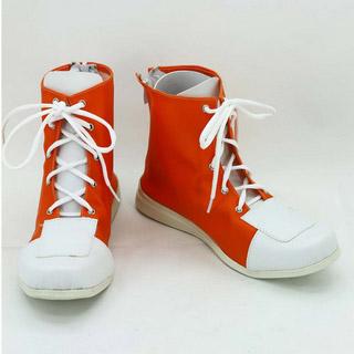 家庭教師ヒットマンREBORN! 沢田綱吉(さわだ つなよし)/ツナ 合皮 ゴム底 低ヒール コスプレ靴