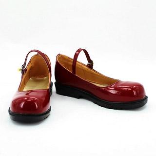 ジョジョの奇妙な冒険 エリナ・ペンドルトン・ジョースター レッド コスプレ靴