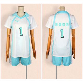 ハイキュー!! 青葉城西高校 バレー部 及川 徹(おいかわ とおる) スポーツウェア コスプレ衣装