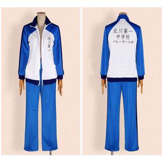 ハイキュー!! 北川第一中学校 バレー部 影山 飛雄(かげやま とびお) スポーツウェア コスプレ衣装