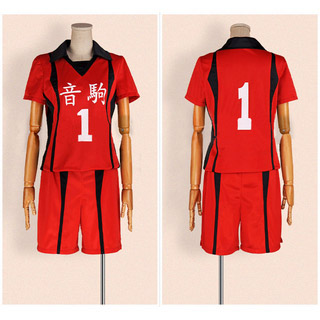 Haikyu!! Red Uniform Cosplay Costume