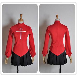 Fate/kaleid liner Prisma Illya Rin Tosaka Cosplay Costume