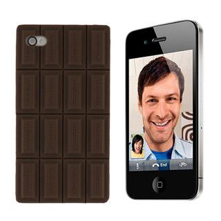iPhone4/4s/5 ケース ディズニー チョコレートシリコン携帯ケース