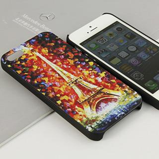 ロマンチックのパリ iPhone5 ケース おしゃれ携帯ケース イラスト