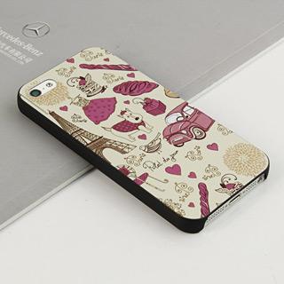 幸せな生活 携帯ケース pcプラスチック iPhone5専用