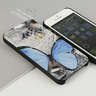 チョウイラスト携帯ケース iPhone5 ケース