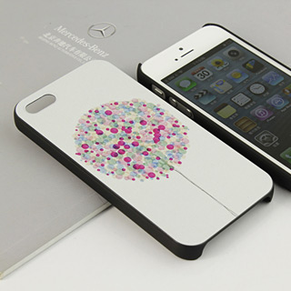 愛の風船 携帯ケース ロマンチック iPhone5 ケース