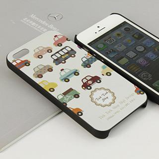 車の町 幻想溢れる携帯ケースス pcプラスチック iPhone5 ケース