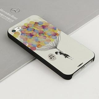 愛をキャッチする 携帯ケース pcプラスチックiPhone5 ケース