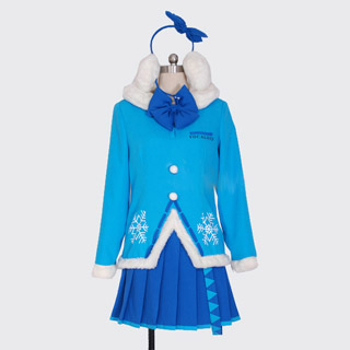 VOCALOID Snow Miku Wonder Festival 2012 Cosplay Costume