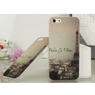 エッフェル塔 携帯ケース ハード iPhone5 ケース