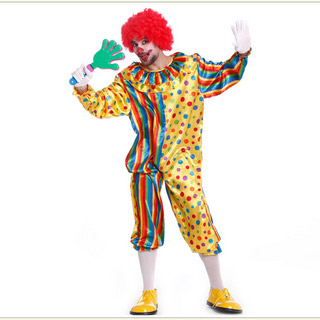 Halloween Clown Costume Male Cosplay Costume