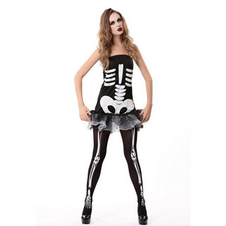 Halloween Skull Party Cosplay Costume