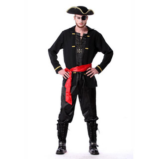 Halloween Pirates of the Caribbean Party Cosplay Costume