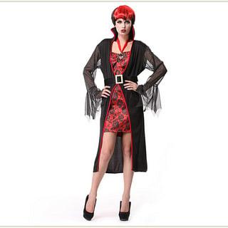 ハロウィン 大人仮面舞踏会衣装 女性吸血鬼衣装 ヴァンパイア コスチューム