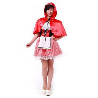 ハロウィン パーティー衣装 大人仮面舞踏会衣装 赤ずきんちゃん制服 コスチューム