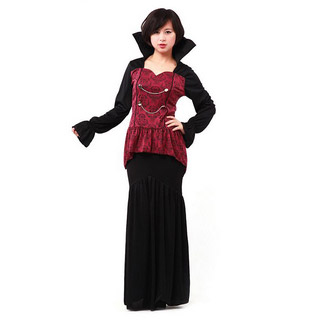Halloween Vampire Lady Party Cosplay Costume