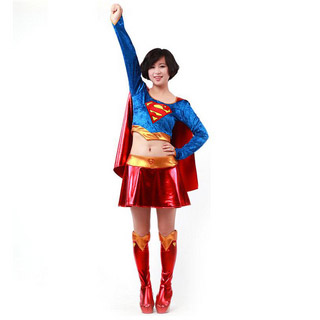 Halloween Superwomen Party Cosplay Costume