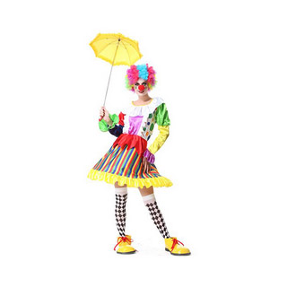 Halloween Clown Female Party Cosplay Costume