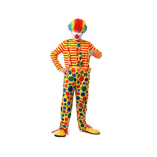 Halloween Clown Two pieces Party Cosplay Costume