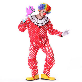Halloween Clown Party Cosplay Costume