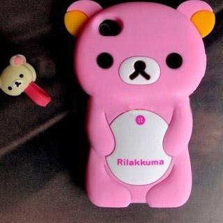 かわいいクマ iphone ケース シリコン携帯ケース