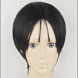 黒子のバスケ 高尾 和成(たかお かずなり) ブラック ショート コスプレウィッグ