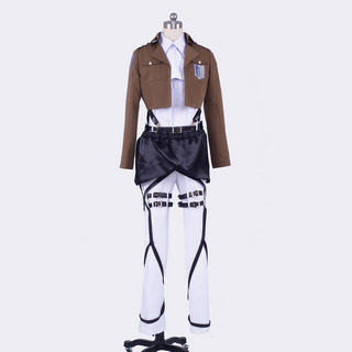 Attack on Titan Survey Corps Levi Cosplay Costume