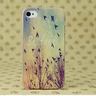 秋の美しさ pcハード材質携帯ケース iPhone4/4s/5 ケース