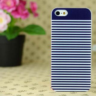 ブルーボーダー iPhone4/4s/5 ケース 人気 携帯ケース