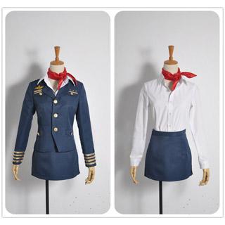 Uta no Prince-sama Shining Airlines Ringo Tsukimiya Cosplay Costume