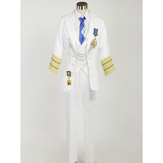 Uta no Prince-sama White emblem Tokiya Ichinose Cosplay Costume