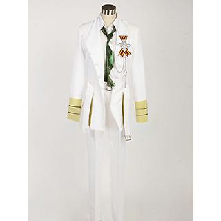Uta no Prince-sama White emblem Natsuki Shinomiya Cosplay Costume