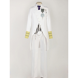 Uta no Prince-sama White emblem Masato Hijirikawa Cosplay Costume