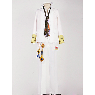 Uta no Prince-sama White emblem Ren Jinguji Cosplay Costume