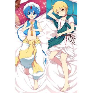マギ 運命の迷宮 アラジン&アリババ・サルージャ 等身大抱き枕カバー、オリジナル抱き枕カバー、アニメ抱き枕