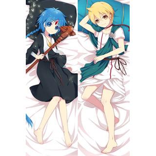 マギ 運命の迷宮 アラジン&アリババ・サルージャ ver2 等身大抱き枕カバー、オリジナル抱き枕カバー、アニメ抱き枕
