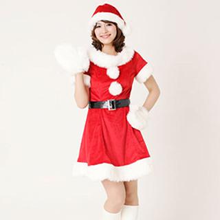 サンタクロース クリスマス イベント パーティー コスチューム 激安 X\'mas サンタ衣装