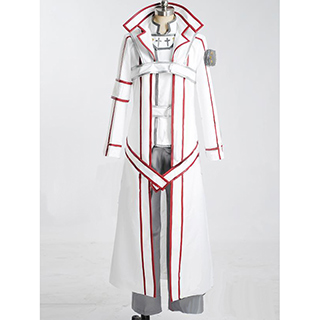 Sword Art Online Kirito/Kazuto Kirigaya Knights of the Blood Oath Cosplay Costume