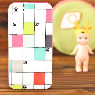 個性的 携帯ケース チェック iPhone5s ケース