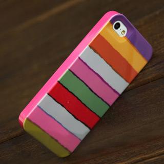 レインボーのよう 携帯ケース プラスチックiPhone5s ケース