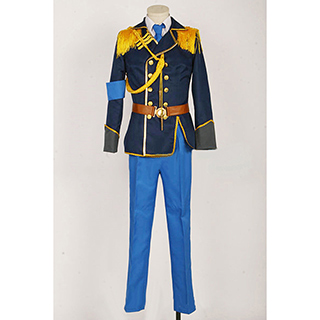 K Project Saruhiko Fushimi Spoon Army Coat Cosplay Costume